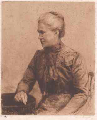Auguste Fickert (1855-1910) ÖNB Bildarchiv