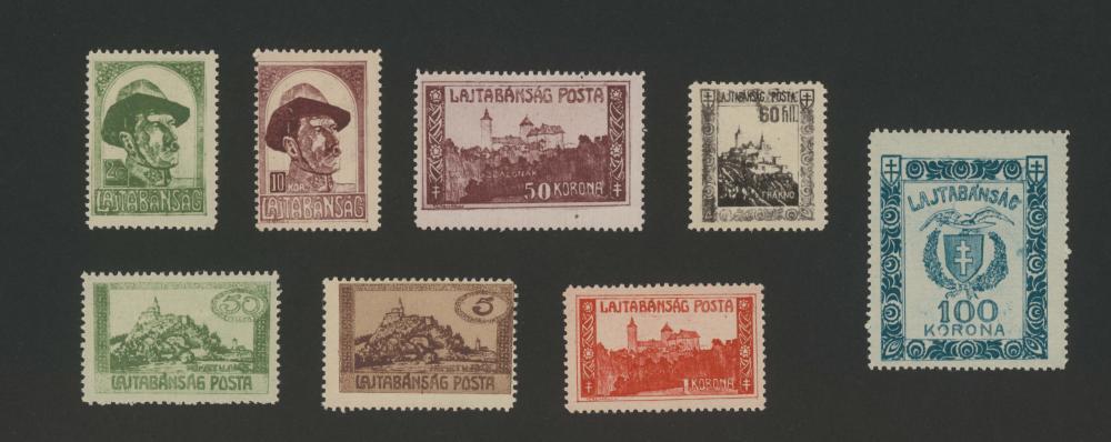 Briefmarken Lajtabánság/Leithabanat, 1921