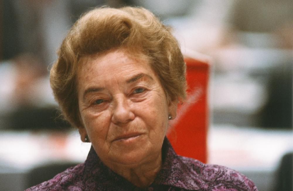 Hertha Firnberg, Wien 1985